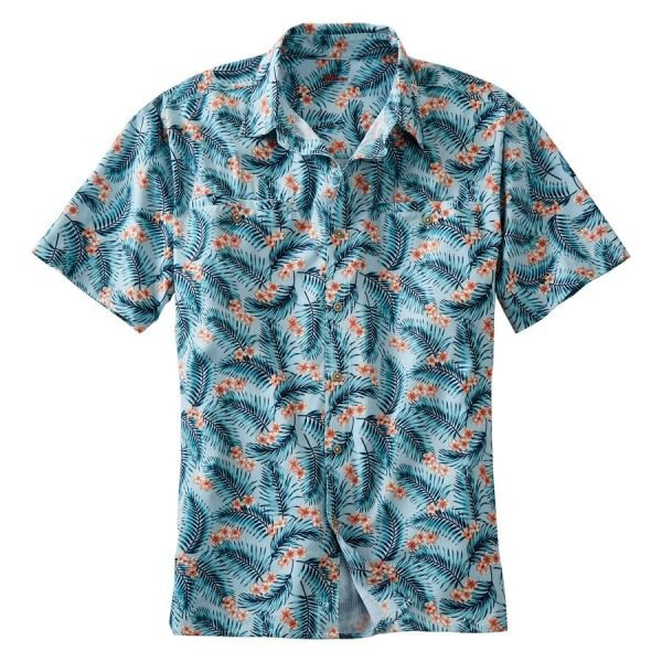 Printed Button Up