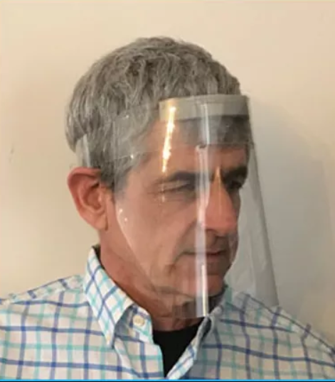 Face Shield with Adjustable Band and Foam