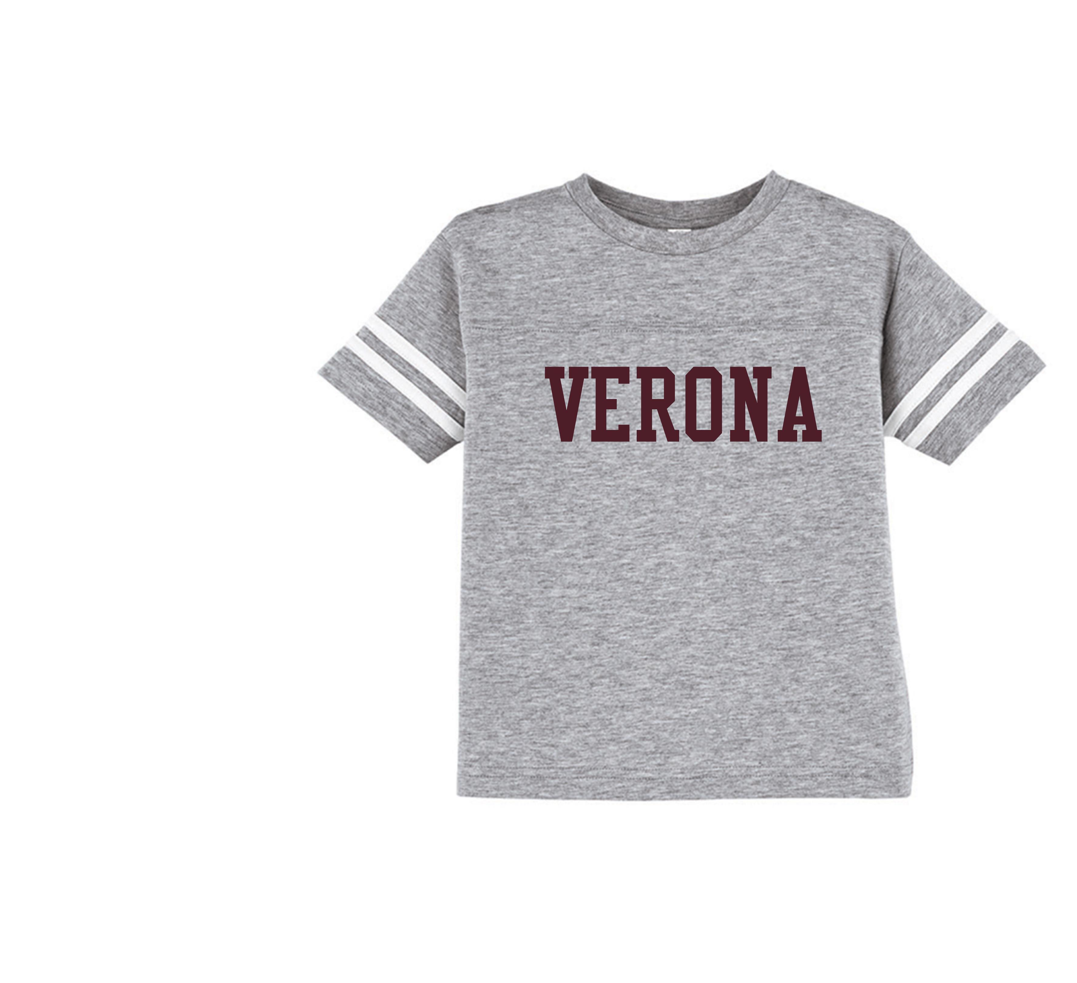 Rabbit Skins Verona Toddler Football Fine Jersey T-Shirt