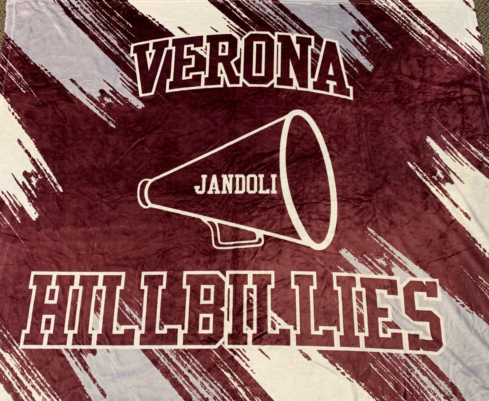 Sublimated Verona Cheer Blanket