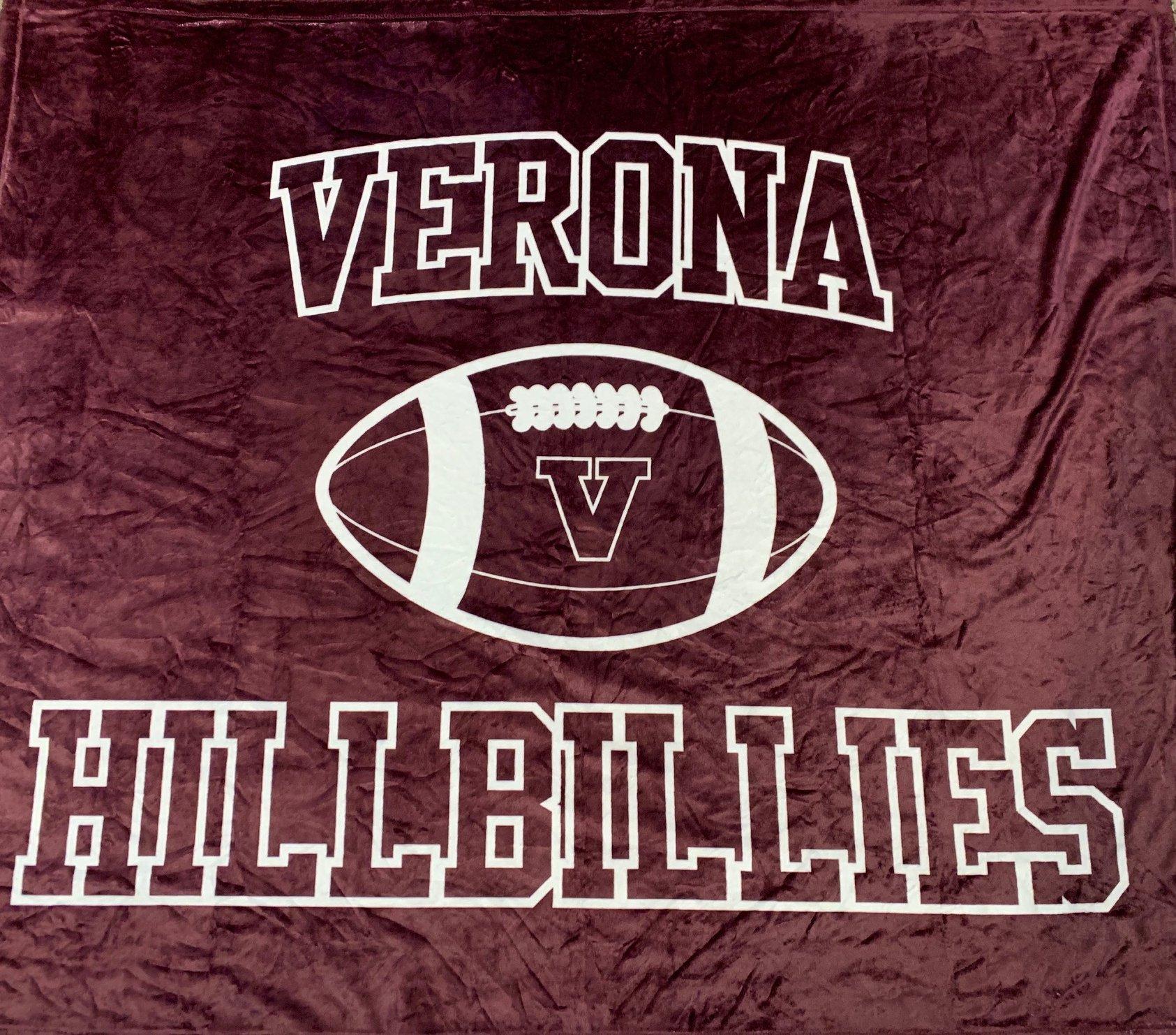 Sublimated Verona Football Blanket