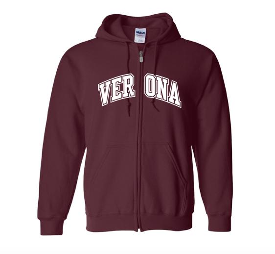 Jerzees Verona Full-Zip Hooded Sweatshirt