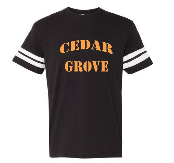 LAT Cedar Grove Football V-Neck Tee