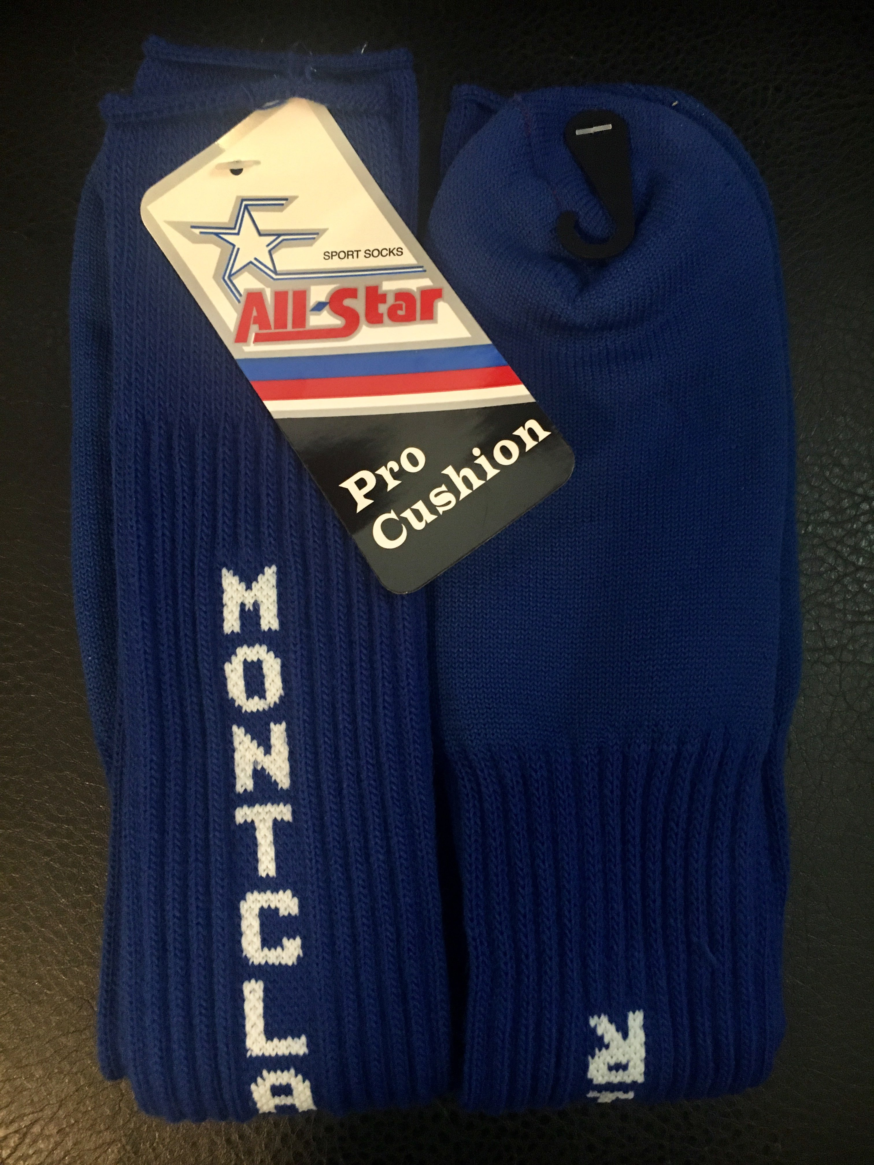 Montclair Softball Socks