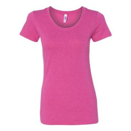 Bella + Canvas Ladies' Triblend Short-Sleeve T-Shirt