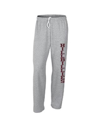 Gildan Hillbillies Open-Bottom Sweatpants