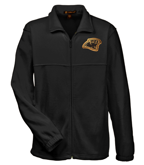 Harriton Panther Head Full Zip Fleece