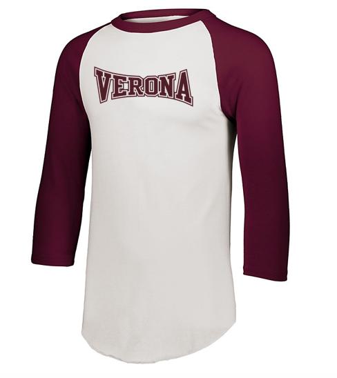 Augusta Verona Baseball Tee
