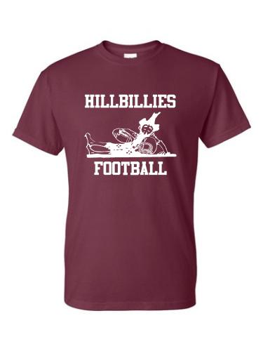 Gildan Verona Hillbillies Football T-Shirt