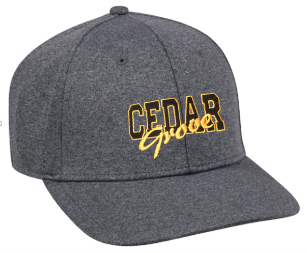 Outdoor Cap Cedar Grove Heathered Baseball Cap