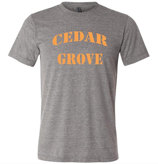 Bella + Canvas Cedar Grove Unisex Triblend Short-Sleeve T-Shirt