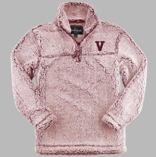 Boxercraft V Sherpa Quarter Zip Pullover