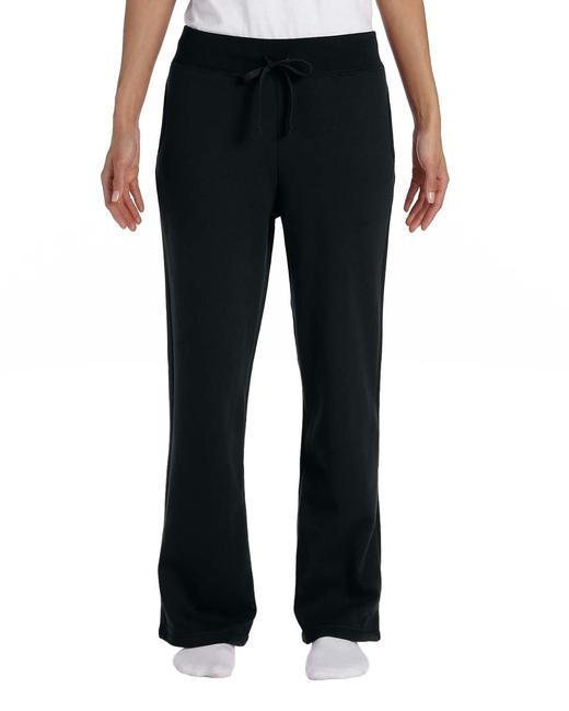 Gildan Ladies' Open-Bottom Sweatpants