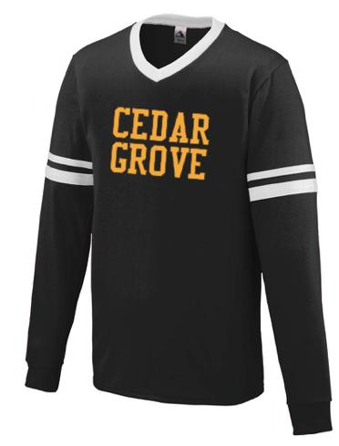 Augusta Cedar Grove Long Sleeve Stripe Jersey