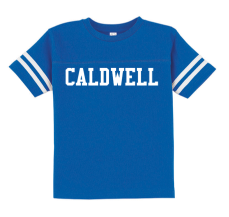 Rabbit Skins Caldwell Toddler Football Fine Jersey T-Shirt