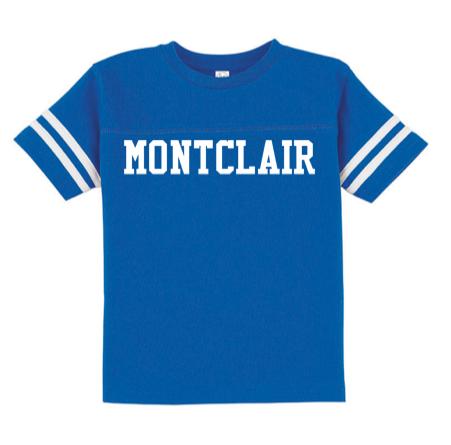 Rabbit Skins Montclair Toddler Football Fine Jersey T-Shirt