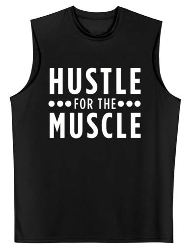 A4 Hustle For the Muscle Cooling Performance Muscle T-Shirt