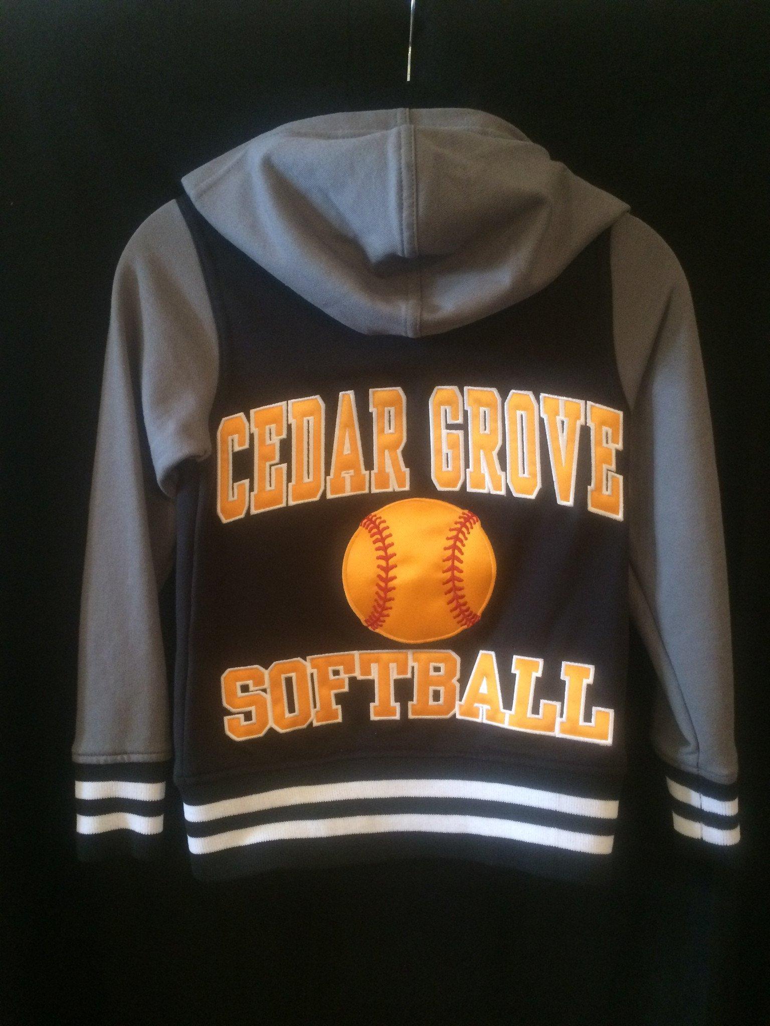 Holloway Cedar Grove Softball Accomplish Jacket (With Name)