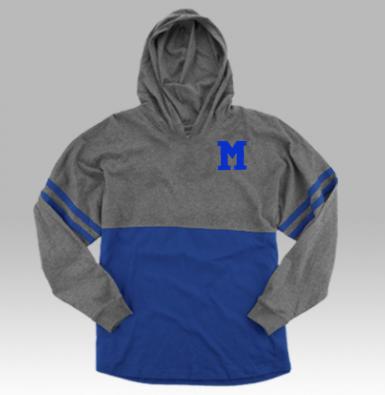 Boxercraft M Hooded Pom-Pom Jersey