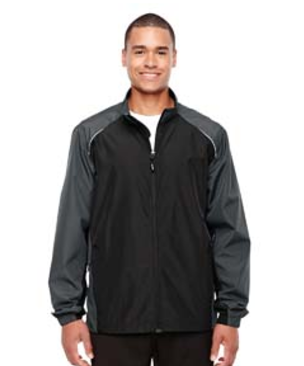 Ash City Core 365 Men's Stratus Colorblock Lightweight Jacket