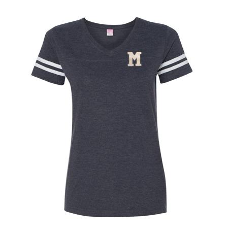 LAT Ladies' M Football Fine Jersey T-Shirt