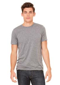 Bella + Canvas Unisex Triblend Short-Sleeve T-Shirt