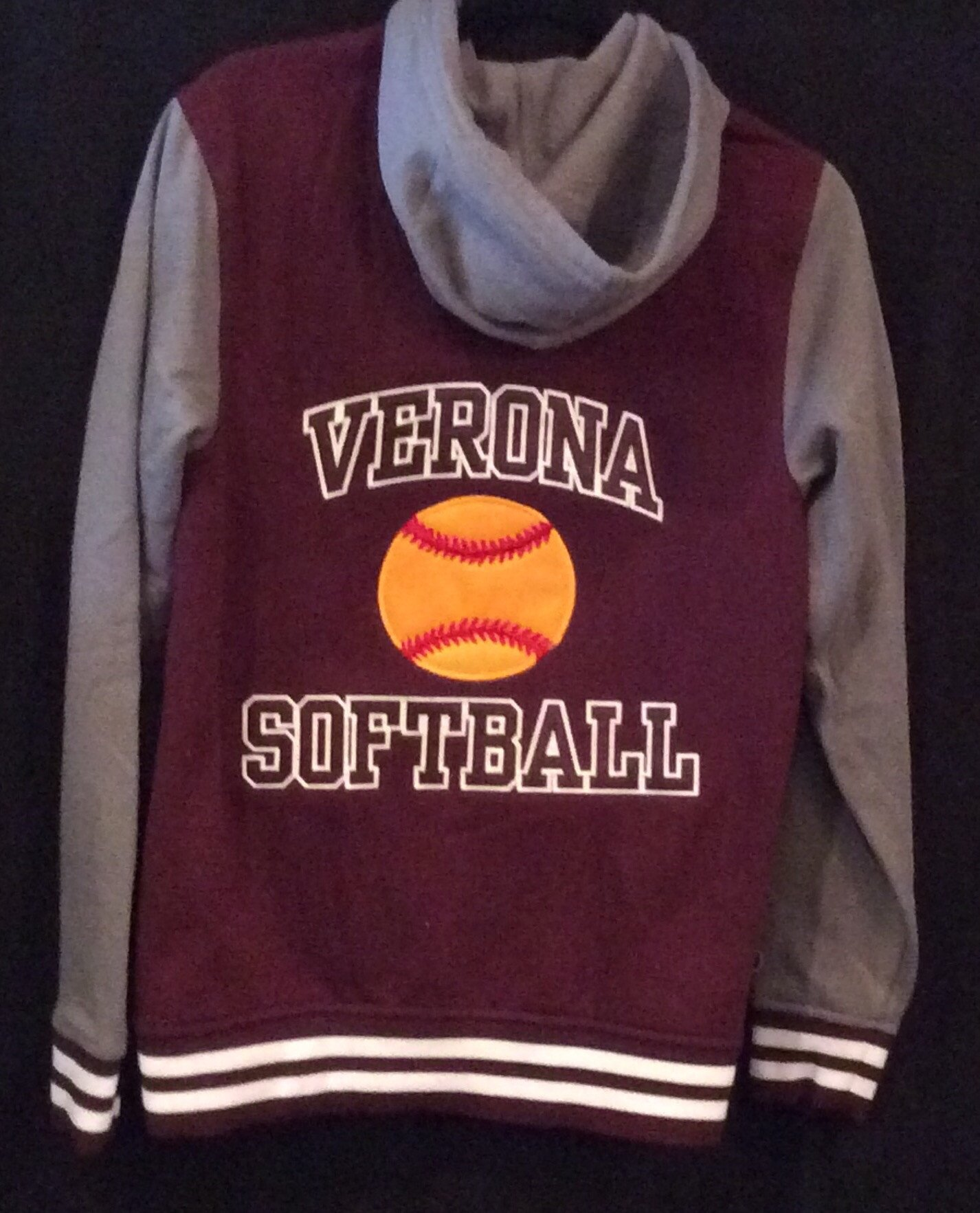 Holloway Verona Softball Accomplish Jacket (With Name)