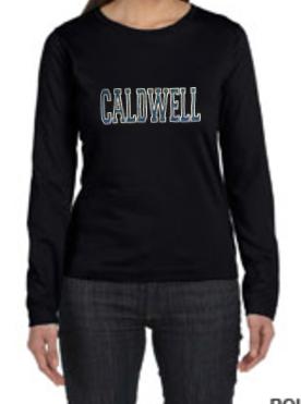 LAT Caldwell Glitter Long Sleeve T-shirt