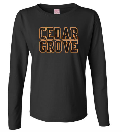 LAT Cedar Grove Glitter Flake Long Sleeve