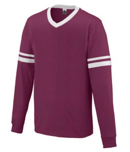 Augusta Long Sleeve Stripe Jersey