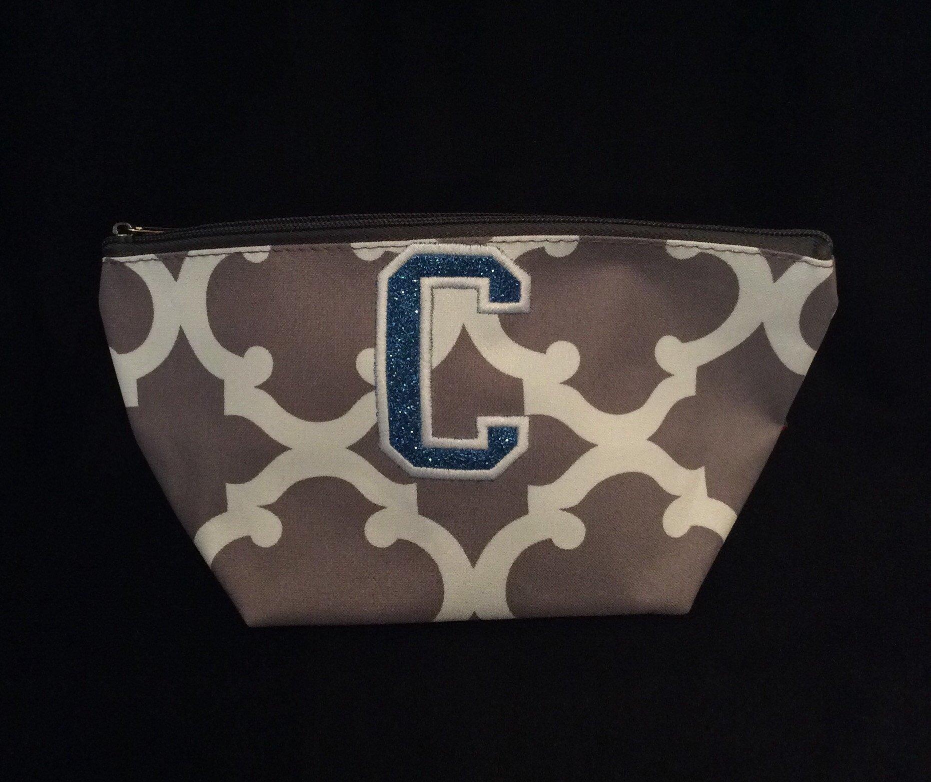 Glitter C Cosmetic Bag