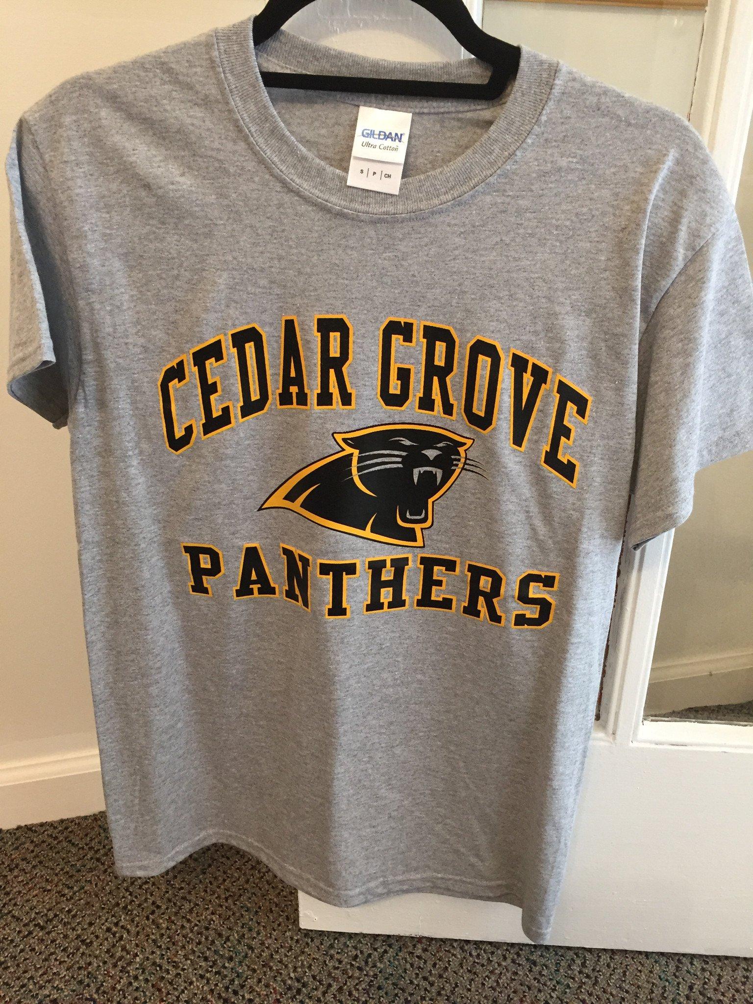Gildan Cedar Grove Panthers Two-Color T-Shirt