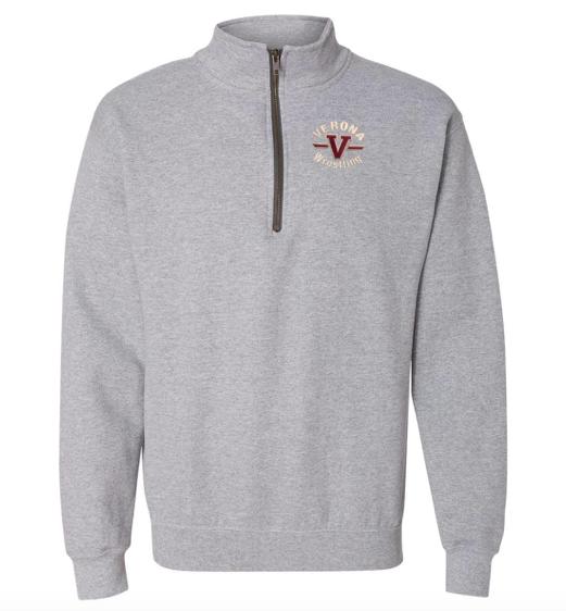 Gildan Verona Wrestling 1/4 zip sweatshirt