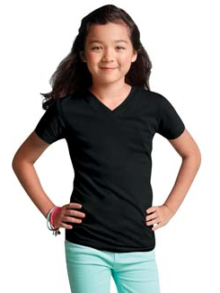 LAT Girls Jersey V-Neck