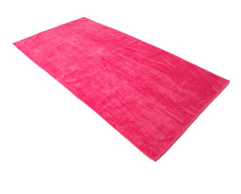Royal Comfort Terry Velour Beach Towel