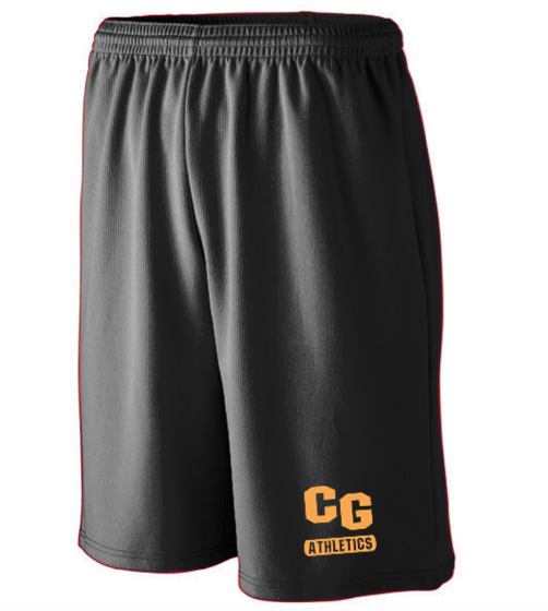 Augusta Cedar Grove Athletics Mens Shorts with Pockets