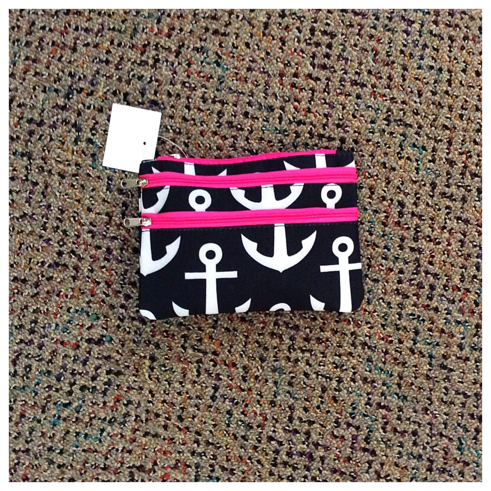 Cosmetic Bag-3 Zipper
