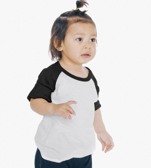 American Apparel Baseball T for toddlers