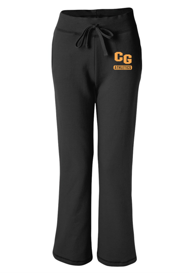 Gildan Cedar Grove Athletics Ladies Open-Bottom Sweatpants