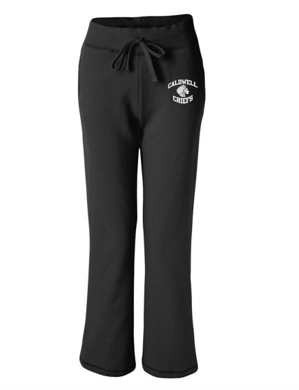 Gildan Caldwell Chiefs Ladies Open-Bottom Sweatpants
