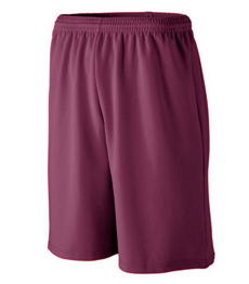 Augusta Long Length Wicking Mesh Athletic Short