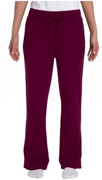 Gildan Ladies Cuffed Bottom Sweatpants