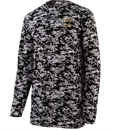 Augusta Cedar Grove Panthers Digi Camo Long Sleeve