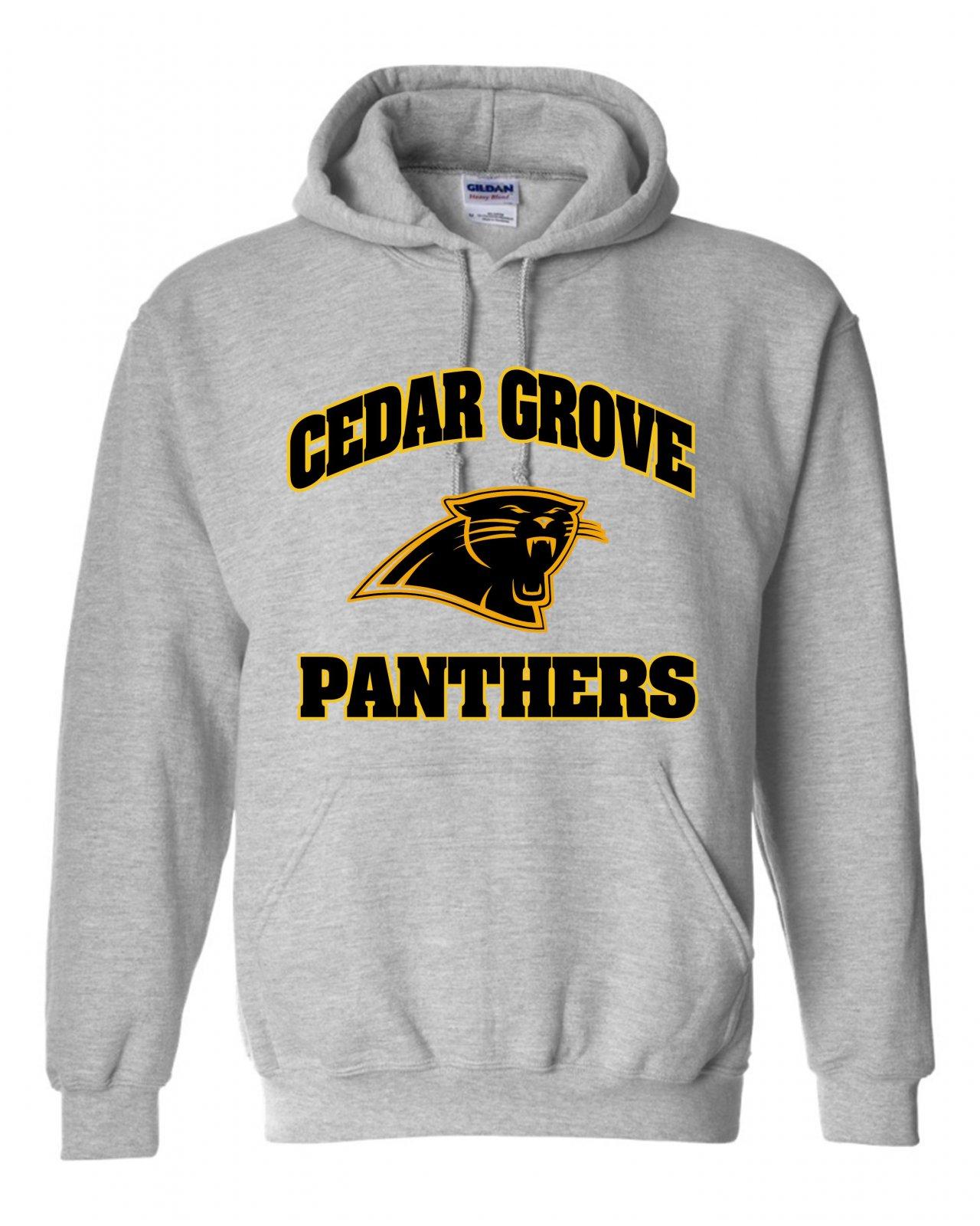 Gildan Cedar Grove Panthers Two-Color Sweatshirt