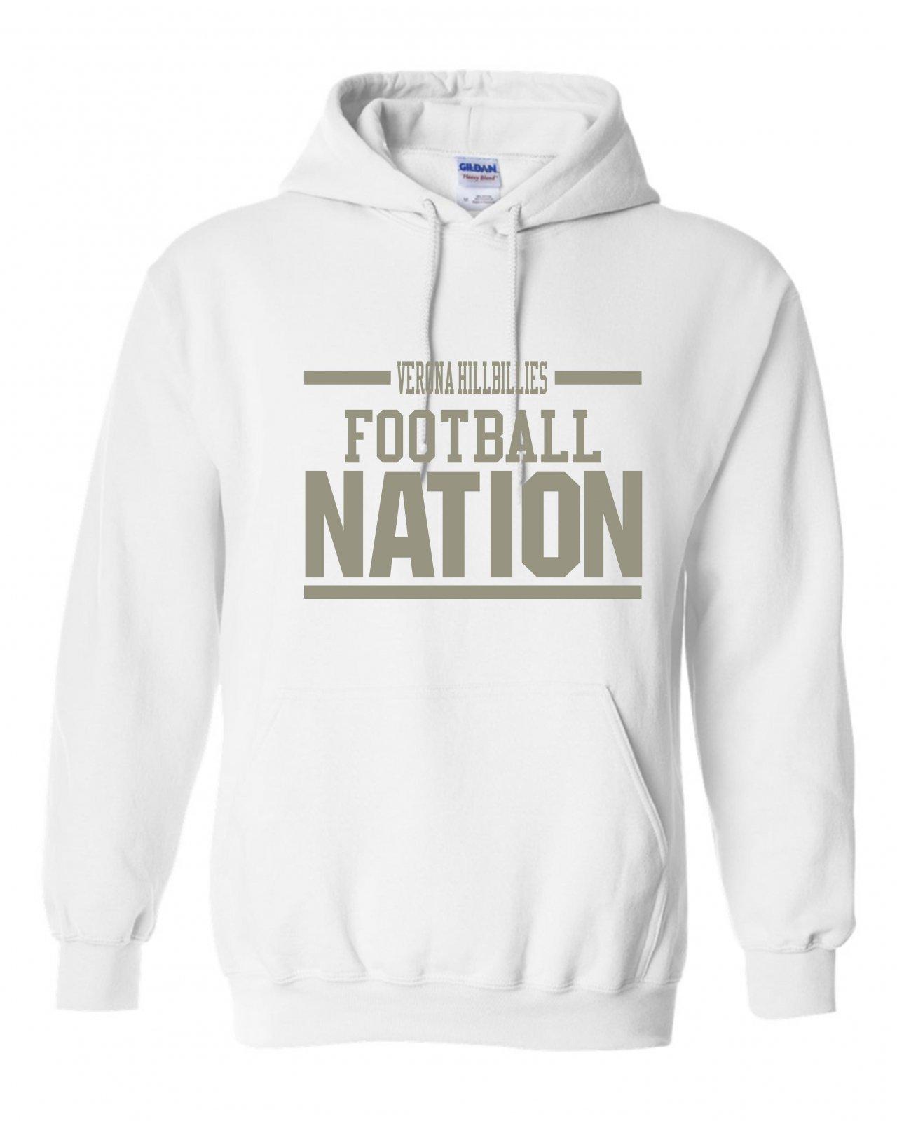 Gildan Verona Hillbillies Football Nation Hoodie