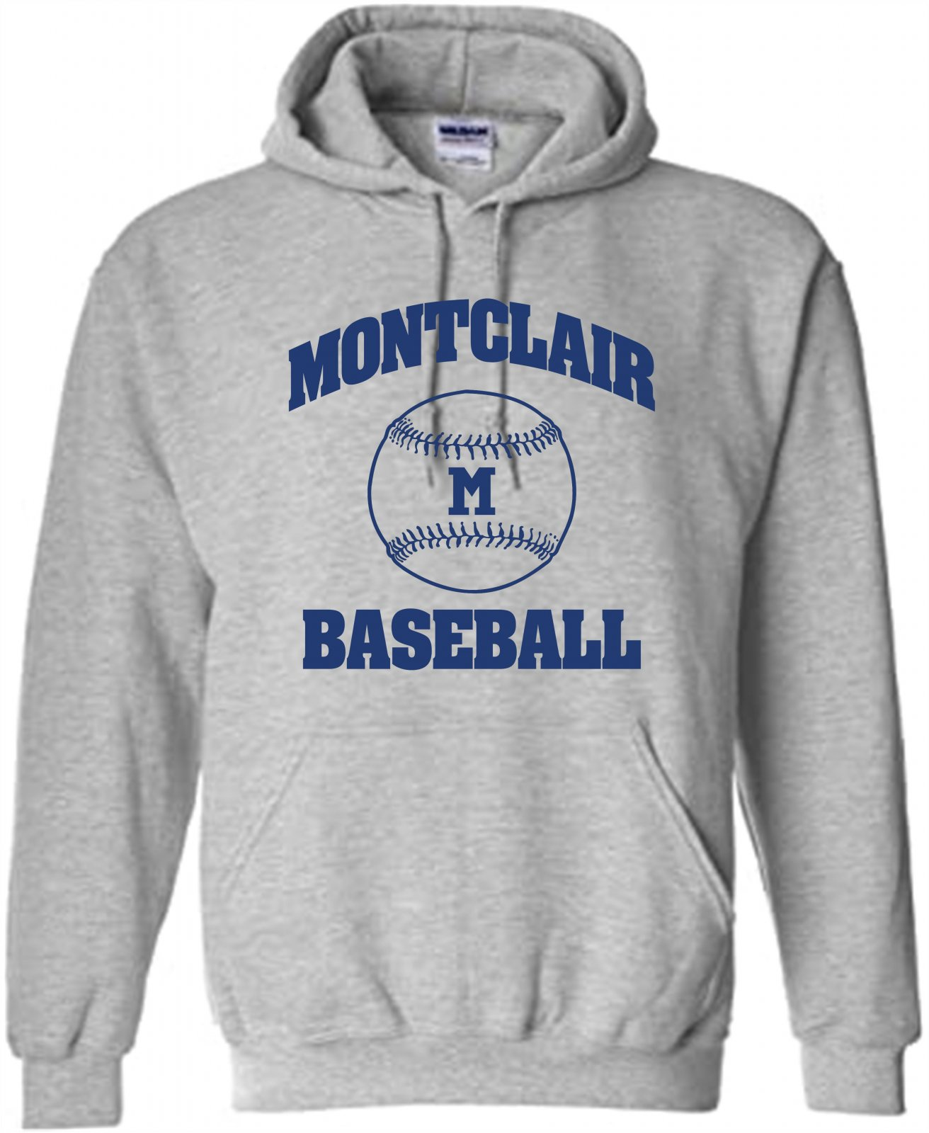 Gildan Montclair Baseball Hoodie