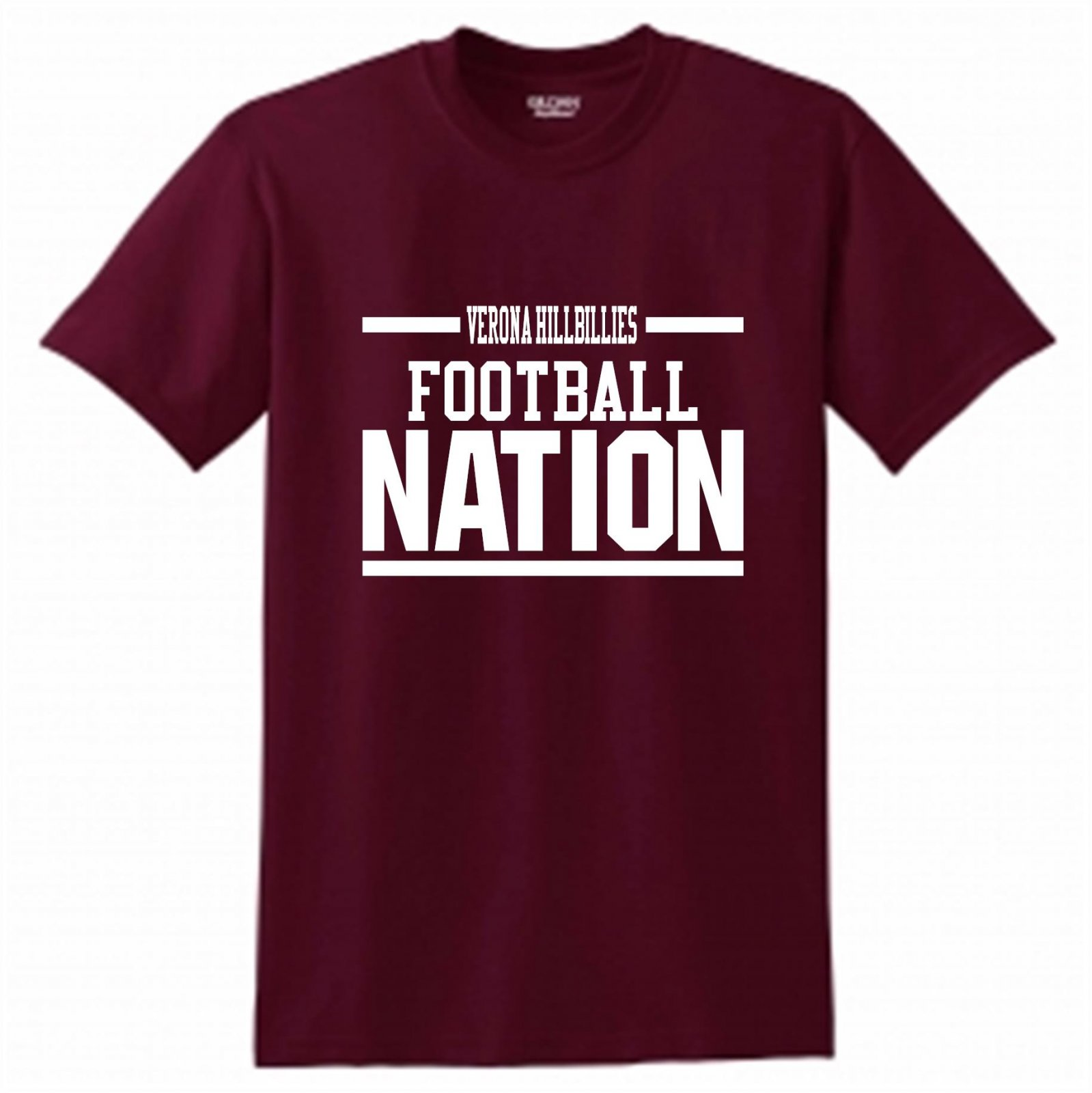 Hillbillies Football Nation Tradition Never Graduates Short Sleeve
