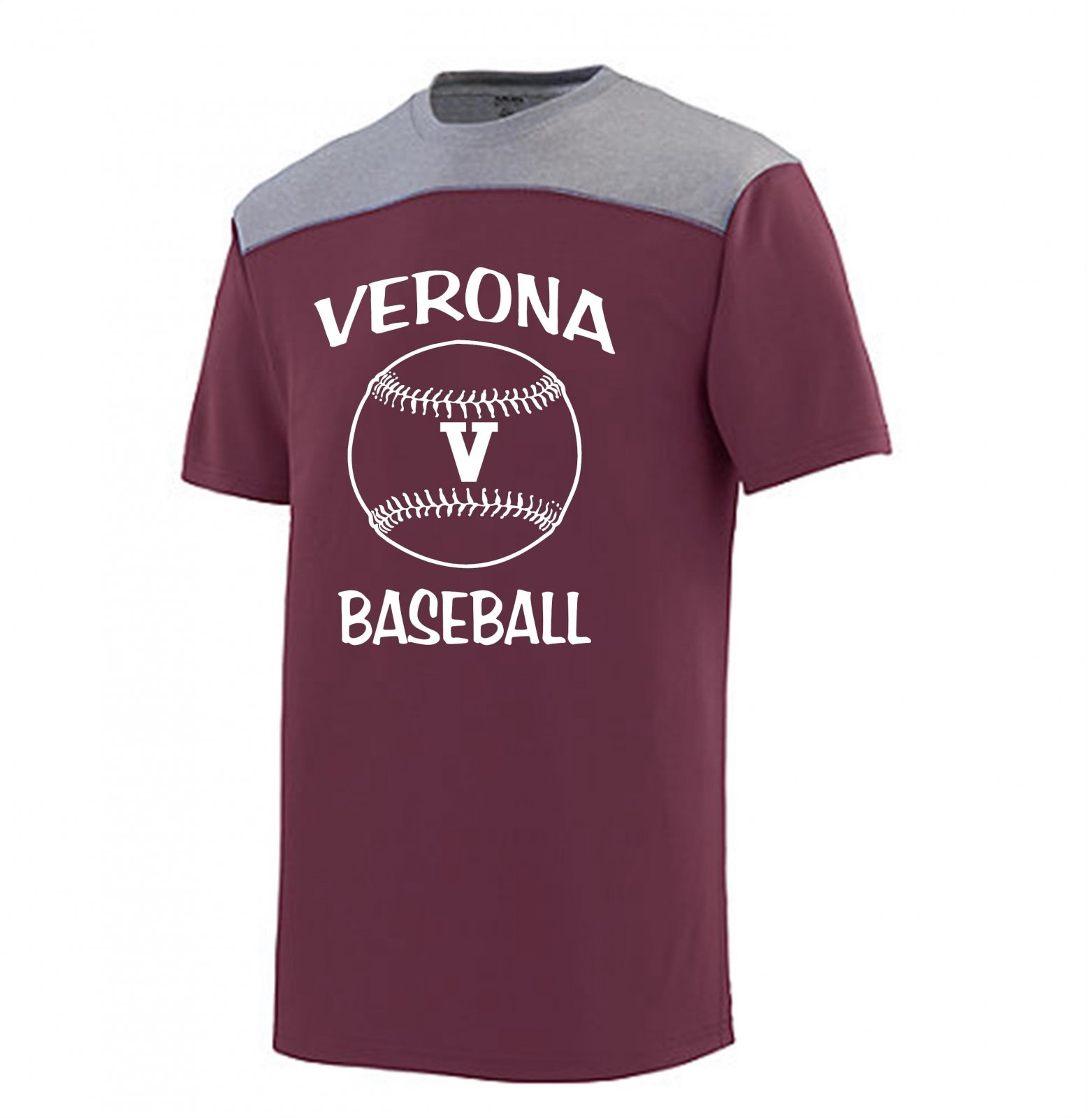 Augusta Challenge Verona Baseball Shirt