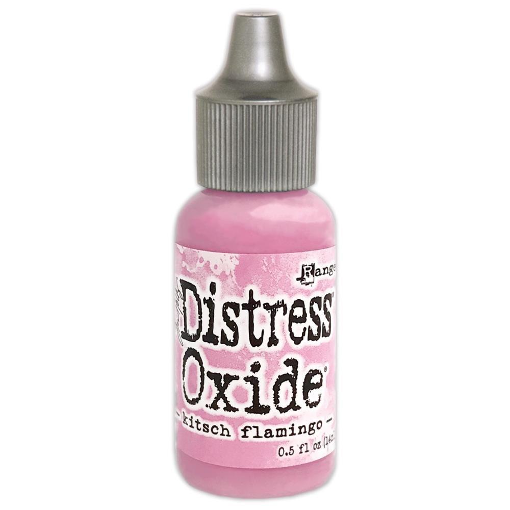 Distress Oxide Kitsch Flamingo Refill