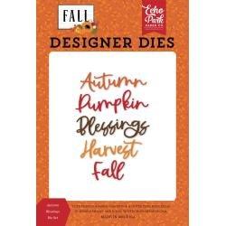 Echo Park Dies-Autumn Blessings